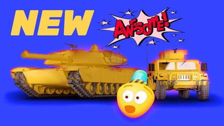 Military Vehicles For Kids