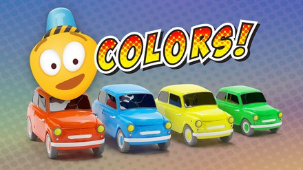 Learn Colors Cartoon