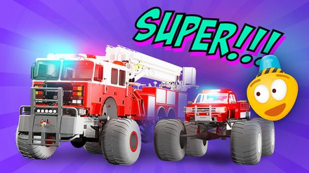Fire Brigade's Monster Trucks