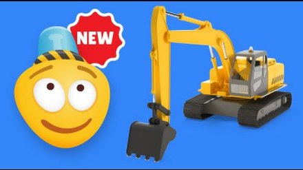Learning Construction Vehicles for Kids