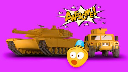 Army Cars For Kids