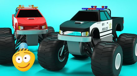 Monster Trucks Cartoons For Children