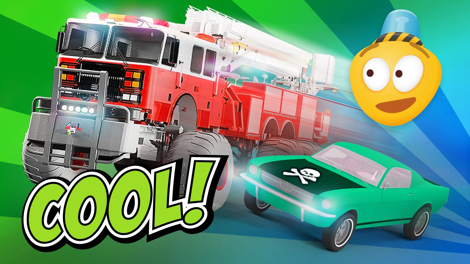 free police cartoon for kids education and interactive